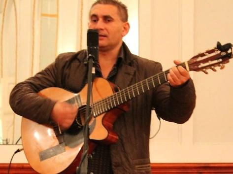 Farkas Zsolt zenész, táncos, koreográfus