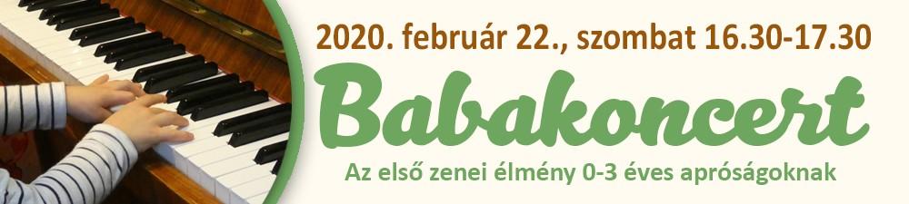 CIPPOLINO BABAKONCERTJE 2020. február