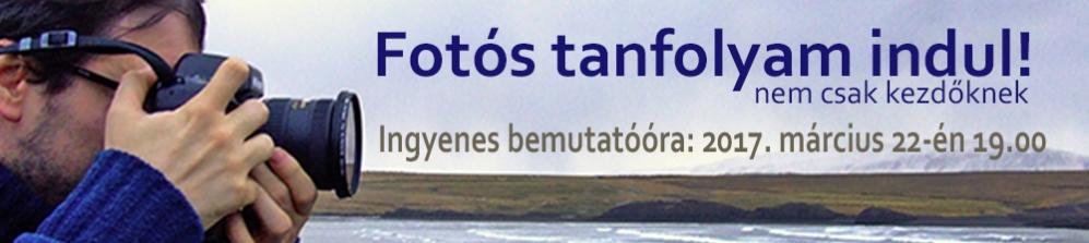 FOTÓS TANFOLYAM