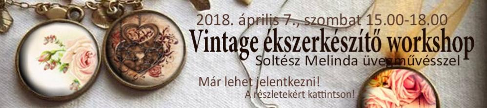 Vintage ékszerkészítő workshop