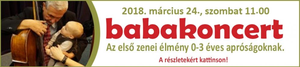 BABAKONCERT II. március