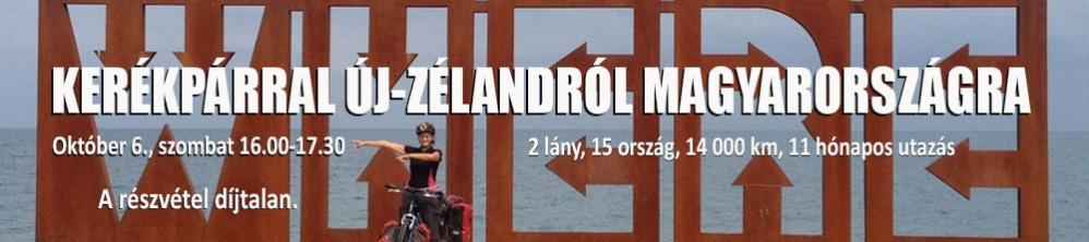 KERÉKPÁRRAL ÚJ-ZÉLANDRÓL MAGYARORSZÁGRA