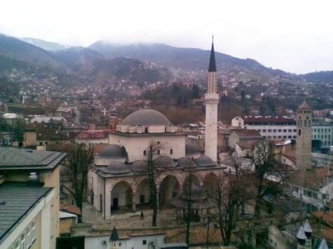 Szarajevó a könyvtárban